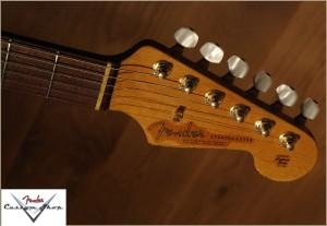 Fender CS Stratocaster 1963 Heavy Relic Black  001 Favorite
