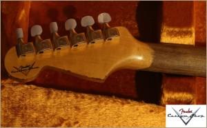 Fender CS Stratocaster 1963 Heavy Relic Black 002 Favorite