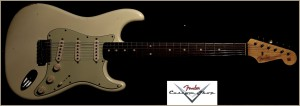 Fender Custom Shop 1960 Stratocaster Olympic White R74436 016