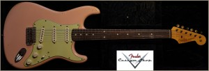 Fender Custom Shop 1960 Stratocaster Shell Pink Relic R72558 022