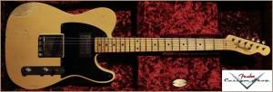 Fender 1953 Heavy Relic Telecaster Blonde Nocaster Seymour Duncan 004