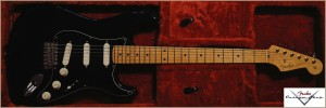 Fender Custom Shop 1956 Stratocaster  Eric Clapton Schaltung Black NOS 002