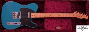 Fender Custom Shop Telecaster 1952 TAOS TURQ 011
