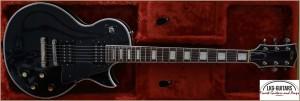 FGN MASTER RELIC Siggi Braun Les Paul Custom - Black 020