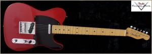 Fender CS CC-Tele Dakota Red 006