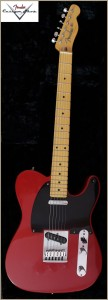 Fender CS CC-Tele Dakota Red 007