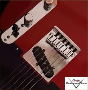 Fender CS CC-Tele Dakota Red 009