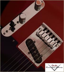 Fender CS CC-Tele Dakota Red 011