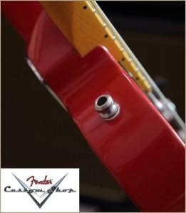 Fender CS CC-Tele Dakota Red 012