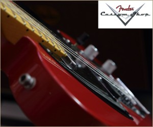 Fender CS CC-Tele Dakota Red 013