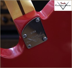 Fender CS CC-Tele Dakota Red 015