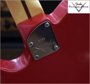 Fender CS CC-Tele Dakota Red 015