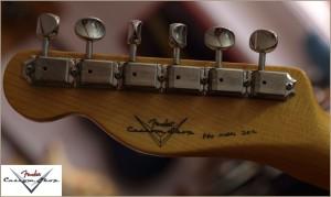 Fender CS CC-Tele Dakota Red 016