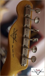 Fender CS CC-Tele Dakota Red 017