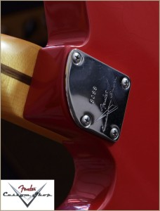 Fender CS CC-Tele Dakota Red 018
