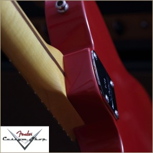Fender CS CC-Tele Dakota Red 019
