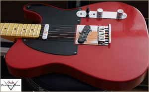 Fender CS CC-Tele Dakota Red 022