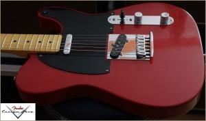 Fender CS CC-Tele Dakota Red 023