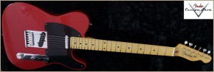 Fender CS CC-Tele Dakota Red 024