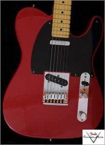 Fender CS CC-Tele Dakota Red 025