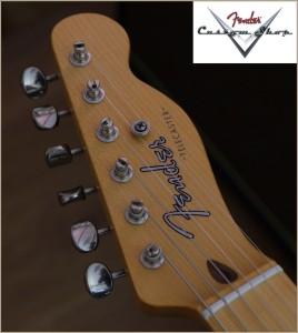 Fender CS CC-Tele Dakota Red 026