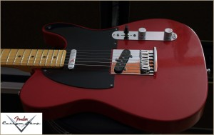 Fender CS CC-Tele Dakota Red 028