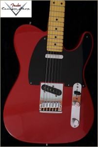 Fender CS CC-Tele Dakota Red 029