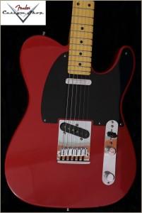 Fender CS CC-Tele Dakota Red 029