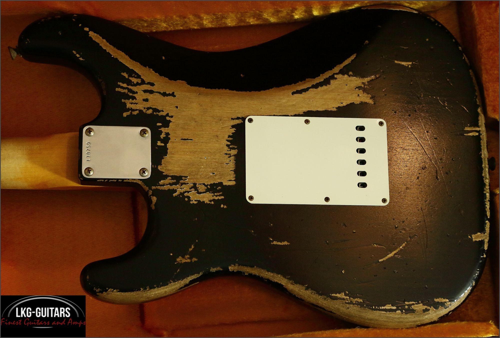 Fender-CS-Strat-1964-Black002 Wiring Stratocaster on