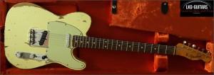 Fender CS Tele 1964 HR Weiss 005