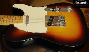 Fender Telecaster Mexico 3TS 001
