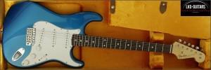 Fender CS Strat NOS 1960 Aqua Marine Metallic 001