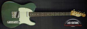 #Fender CS Tele 1964 Olive Drap005