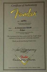 Zertifikat 001