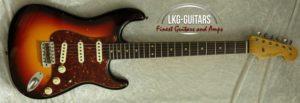 Fender Strat 1962 LTE TS 3TS 010