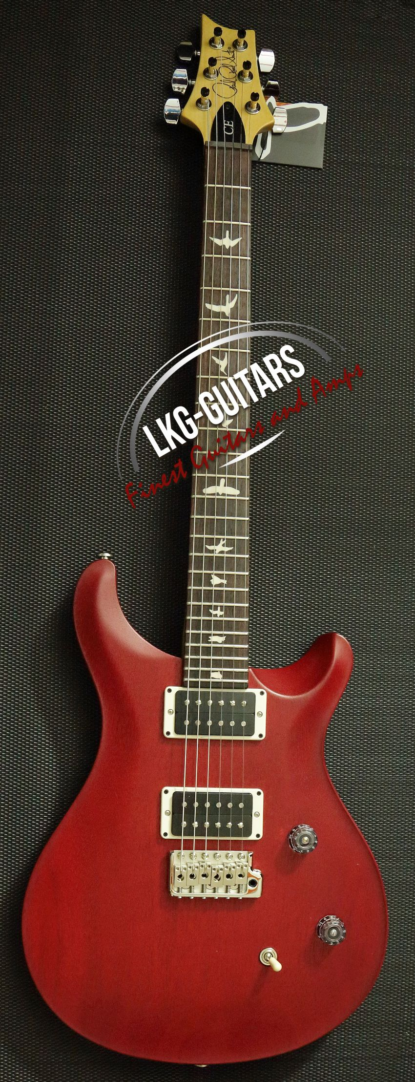 Paul Reed Smith Prs Ce 24 Standard Satin Vintage Cherry