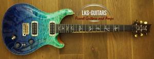 PRS Pauls Guitars Blue FW 014