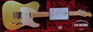 Fender CS Tele LTE Gold 2017 001