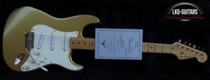 Fender CS Strat 1954 Gold SVH 004