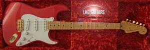 Fender CSStrat 1956 Red Modern 005