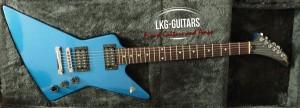 Gibson Exploerer Blue Metallic 009