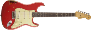fender customshop fiesta red Michael Landau Signature 1963 Relic Stratocaster